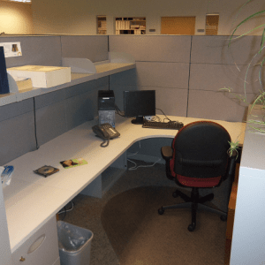 Used Steelcase Answer 7x7 and 7x9 cubicles1