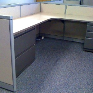 Used Steelcase Avenir 6x8 Cubicles in Dallas1