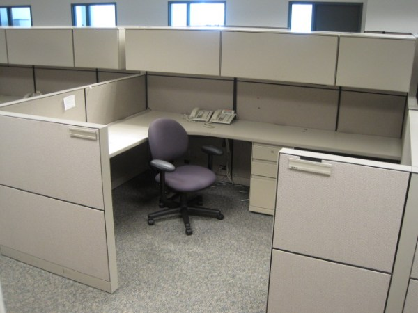 Steelcase Montage 7x9 Used Cubicles
