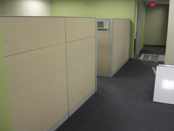 Teknion 6x8 cubicles6