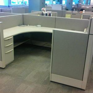 Used Haworth Enhanced Premise 6x8 Cubicles3