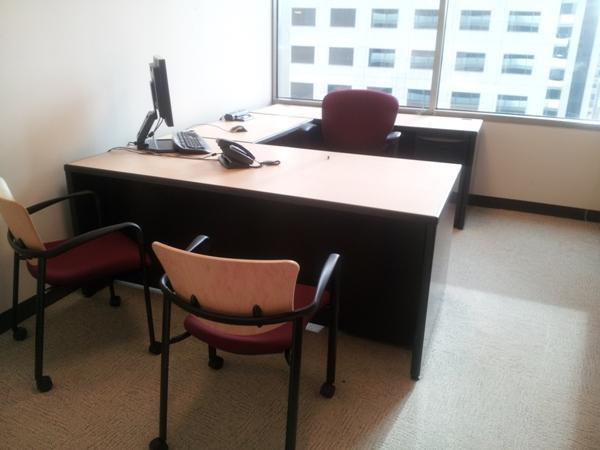Used Haworth Premise 7x7 workstations6