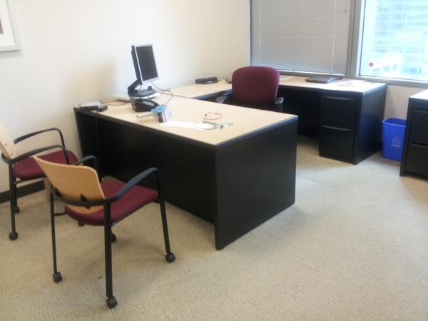 Used Haworth Premise 7x7 workstations7
