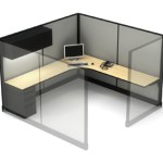 Used Haworth workstations with Bullet Desks3