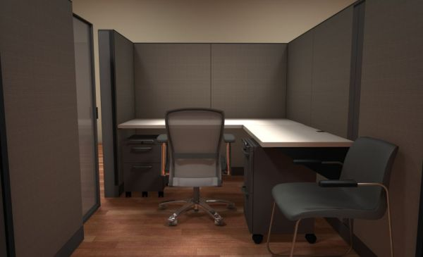 Used Knoll Morrison 6x6 and 6x8 Cubicles2