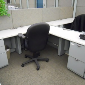 Used Steelcase Context 6.5 x 6.5 workstations5