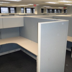 Used Allsteel Concensys 6x6 or 6x8 Cubicles4