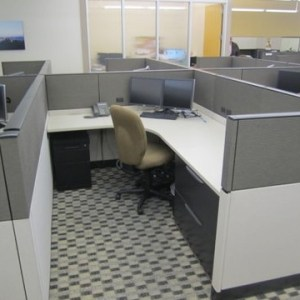 Used Haworth Enhanced Cubicles1