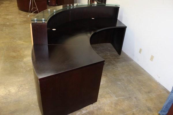 Used Reception Desk Custom Built1
