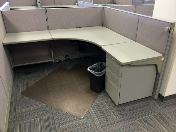 """Haworth Places 6.5x6 cubicles with 44"""" high panels"""
