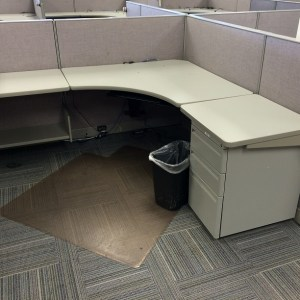 "Haworth Places 6.5x6 cubicles with 44"" high panels"