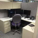 Teknion 7 x 5 Cubicle 66″ H panels – Non Powered – Sold