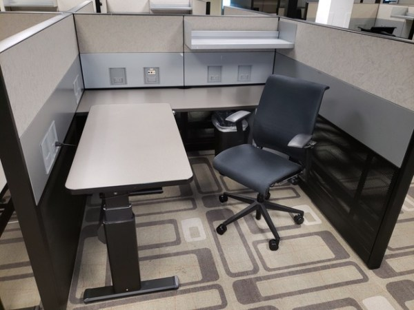 Steelcase Answer Cubicles For Sale, Chair Included