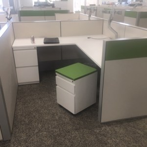 Haworth Premise Cubicles For Sale, 6X6