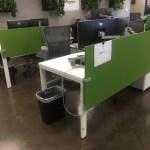 Teknion Benching Workstations, Like New
