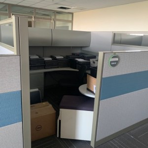 steelcase answer cubicles 8x8 loaded 5
