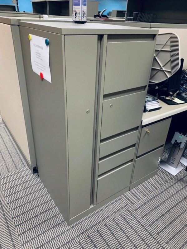 steelcase avenir cubicles with tower 3