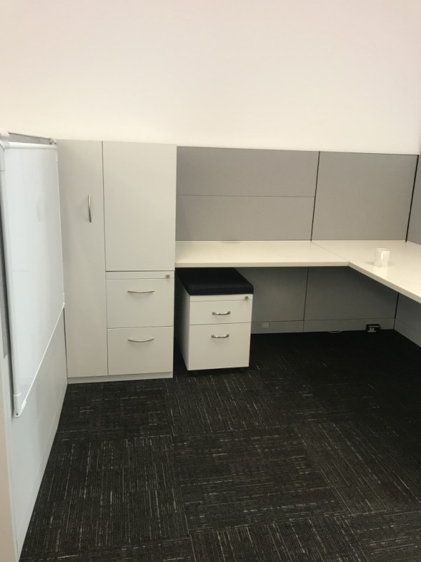 steelcase answer cubicles w tower free task chair 2