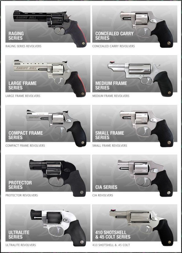 The Taurus Series of Handguns for sale
