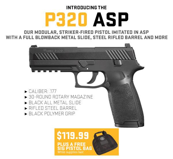 P320 ASP Sig Air Pistol