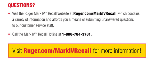 recall info