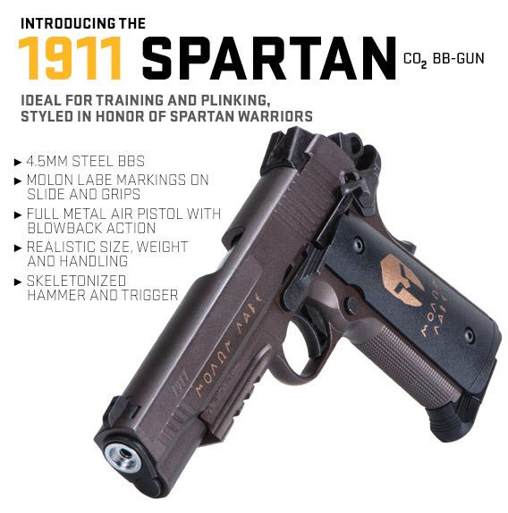 Spartan 1911 BB Gun