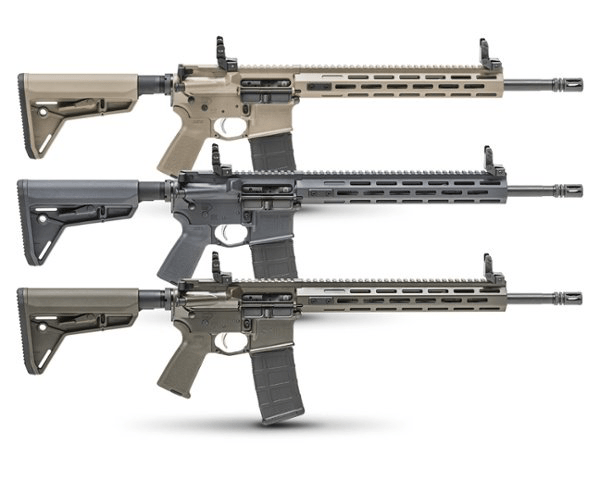 SAINT™ FFH Rifle Cerakote Editions - OD Green, Desert FDE, and Tactical Gray