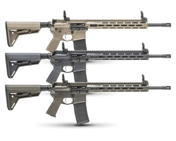 SAINT™ FFH Rifle Cerakote Editions - OD Green, Desert FDE, and Tactical Gray