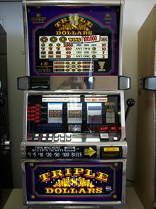 Triple Dollars 3 Reel 9 Line