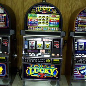 Triple Lucky 7's 5 Coin 5 Line