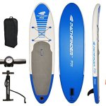 Pathfinder Inflatable SUP Stand-up Paddle board – Best for Carrying Cargo