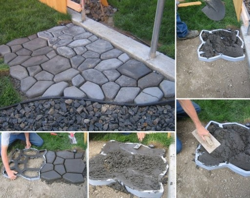 16 Simply Beautiful DIY Projects With Stone and Rocks Torn From Fairy Tales usefuldiyprojects landscaping decor (16)
