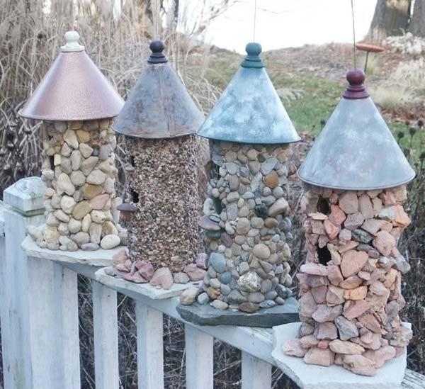 16 Simply Beautiful DIY Projects With Stone and Rocks Torn From Fairy Tales usefuldiyprojects landscaping decor (4)
