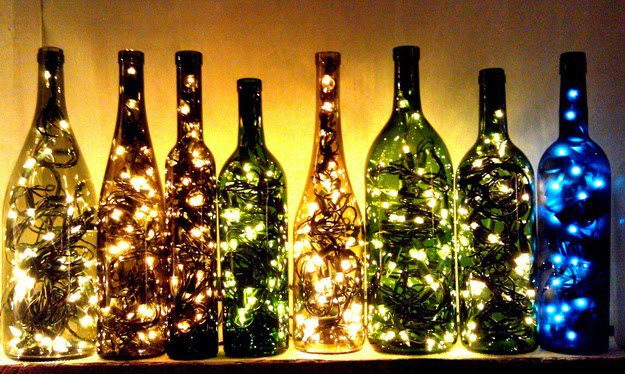 17 Fascinatingly Beautiful DIY Wine Bottle Crafts To Accessorize Your Decor usefuldiyprojects.com (6)