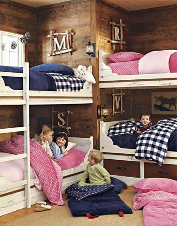 21 Smart and Creative Girl and Boy Shared Bedroom Design Ideas  usefuldiyprojects.com design ideas (18)