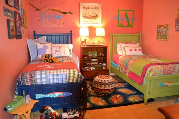 21 Smart and Creative Girl and Boy Shared Bedroom Design Ideas  usefuldiyprojects.com design ideas (19)