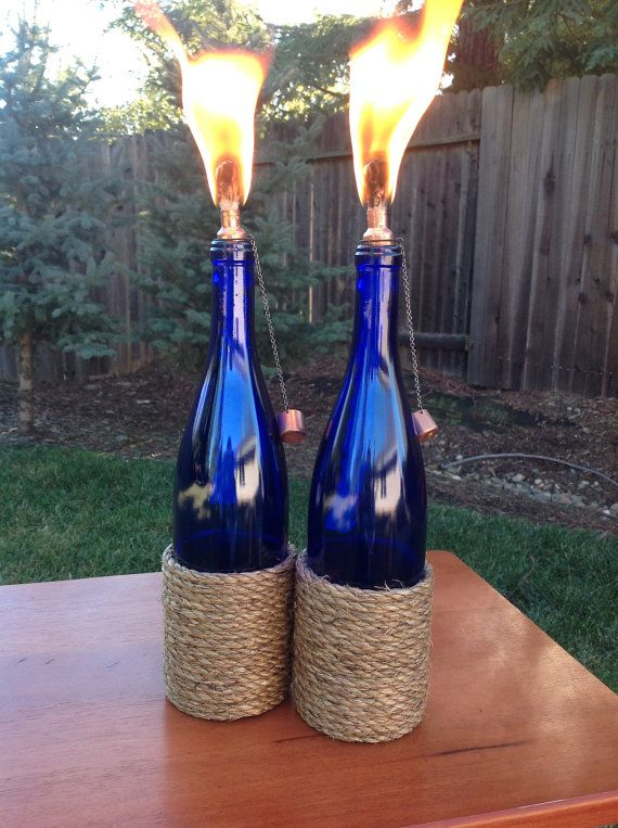 26 Highly Creative Wine Bottle DIY Projects to Pursue usefuldiyprojects.com (26)