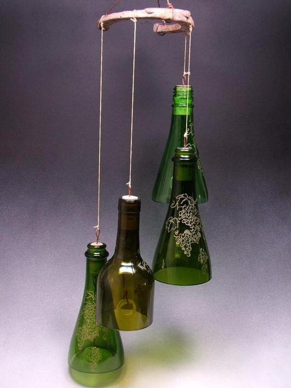26 Highly Creative Wine Bottle DIY Projects to Pursue usefuldiyprojects.com (8)