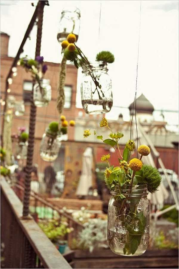 27 Magnificent and Splendid Hanging Mason Jars DIY Projects Beautifying The World usefuldiyprojects.com decor ideas (16)