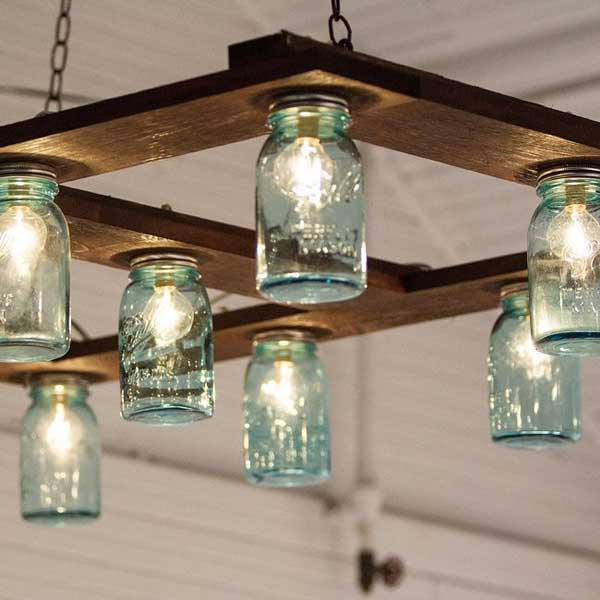 27 Magnificent and Splendid Hanging Mason Jars DIY Projects Beautifying The World usefuldiyprojects.com decor ideas (2)