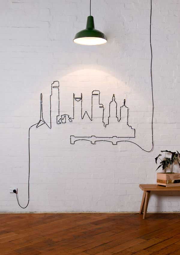 27 Mesmerizing DIY Wall Art Design Ideas To Beautify Your Home in a Glance usefuldiyprojects (14)