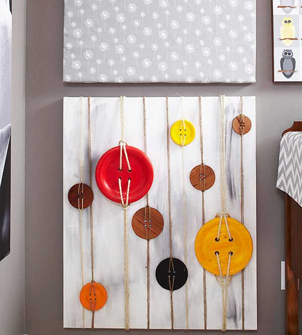 27 Mesmerizing DIY Wall Art Design Ideas To Beautify Your Home in a Glance usefuldiyprojects (7)