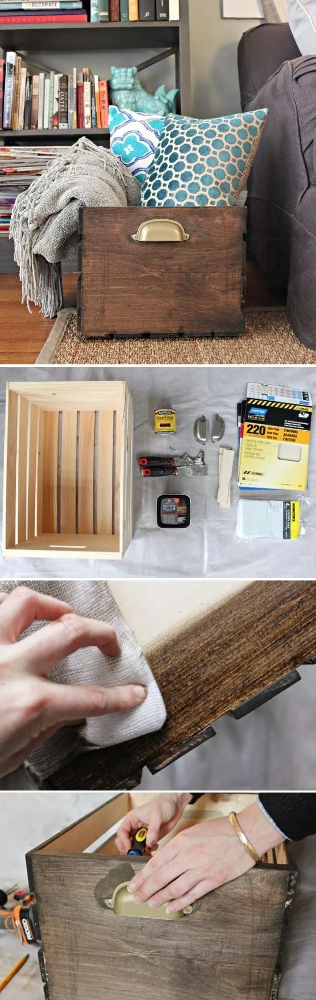 29 Ways To Be Sustainable by Decorating With Wooden Crates  usefuldiyprojects.com decor ideas (4)