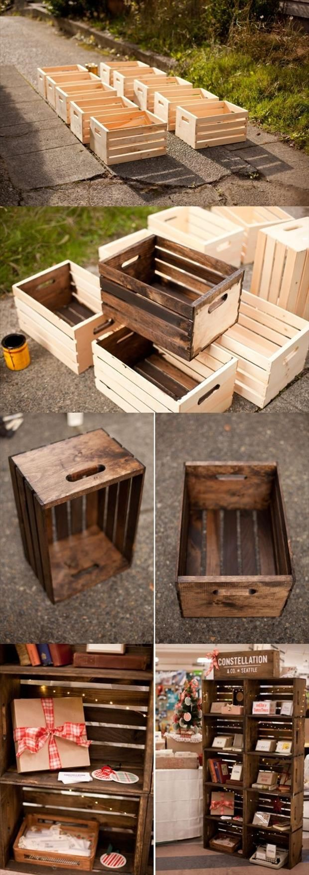 wood decorations for furniture. 29 Ways To Decorate With Wooden Crates Usefuldiyprojects.com Decor Ideas (8) Wood Decorations For Furniture I