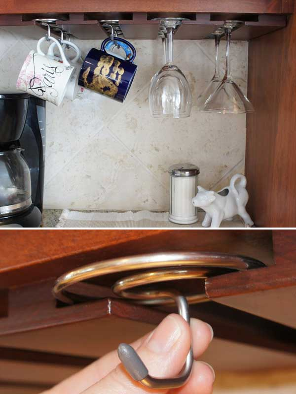 Beau 30 Extraordinary Creative And Graphic DIY Mug Storage To Beautify Your  Kitchen Usefuldiyprojects.com Decor