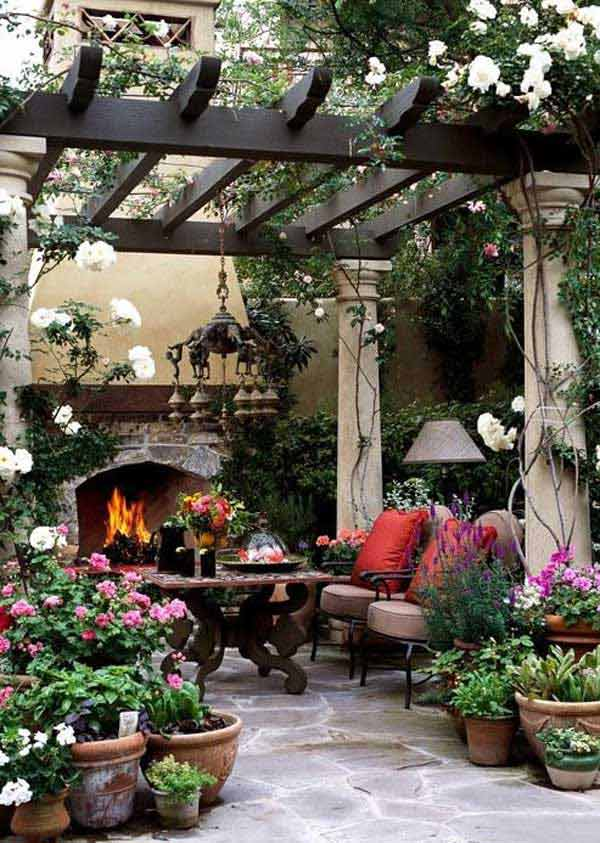 31 Ingeniously Cool Ideas to Upgrade Your Patio This Season usefuldiyprojects.com decor ideas (21)