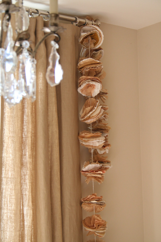 36 Surprisingly Awesome Ways to Use Coffee Filters in DIY Projects usefuldiyprojects.com homesthetics decor (12)