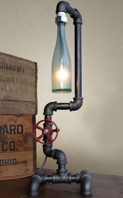 Bottle Lamps Ideas (10)