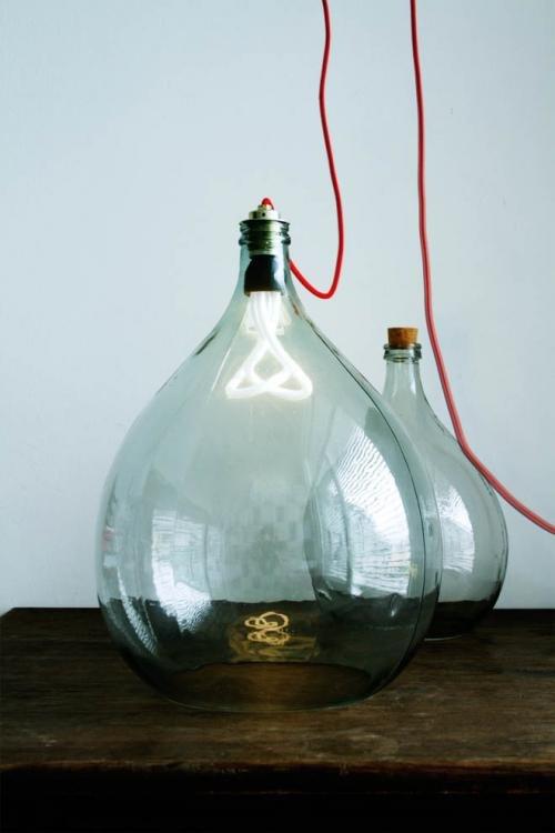 Bottle Lamps Ideas (29)