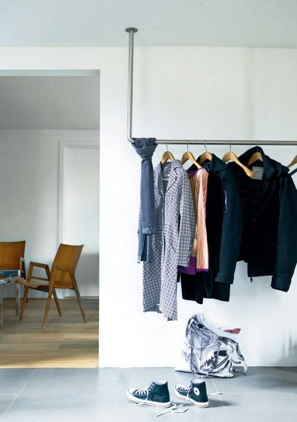 Clothing Storage Solutions For Small Spaces-usefuldiyprojects (27)